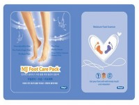 Маска для ног с гиалуроновой кислотой MJ Foot Care Pack