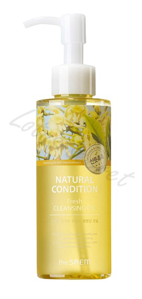 Масло гидрофильное The Saem Natural Condition Fresh Cleansing Oil