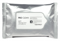 Очищающие салфетки Tony Moly Pro Clean Soft Cleansing Tissue, 15 шт.