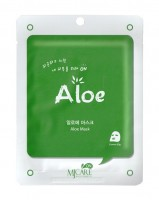 Маска тканевая с алоэ MJ Care Aloe Mask