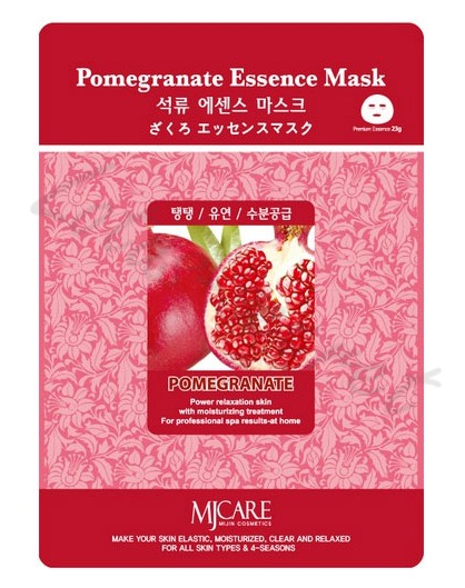 Маска тканевая с гранатом MJ Care Pomegranate Essence Mask