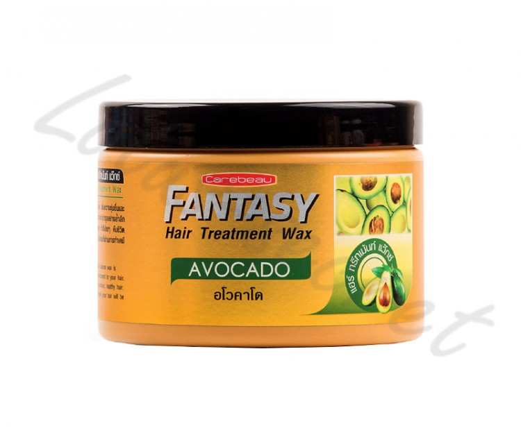 "Маска для волос с воском ""Авокадо"" Carebeau Fantasy Hair Treatment Wax Avocado, 250 мл"