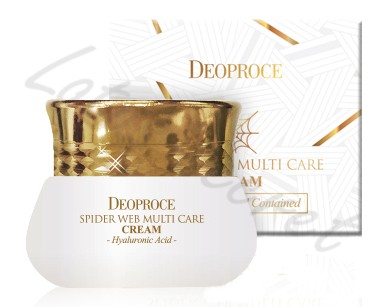 Крем для лица с протеинами паутины Deoproce Spider Web Multi-care Cream