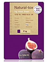 Маска-детокс тканевая с экстрактом инжира The Saem Natural-tox Fig Mask Sheet