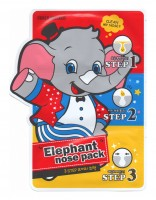 Маска против черных точек Baviphat Urban Dollkiss 3-Step Elephant Nose Pack