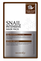 Маска для лица тканевая с муцином улитки Secret Key Snail Intensive Mask Pack