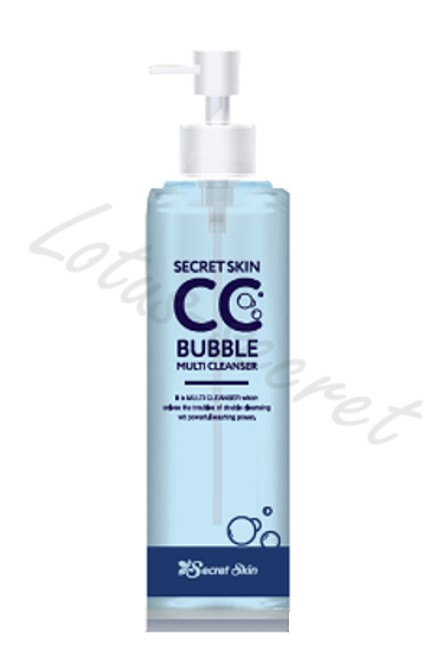 Средство для снятия ВВ и СС крема Secret Skin CC Bubble Multi Cleanser