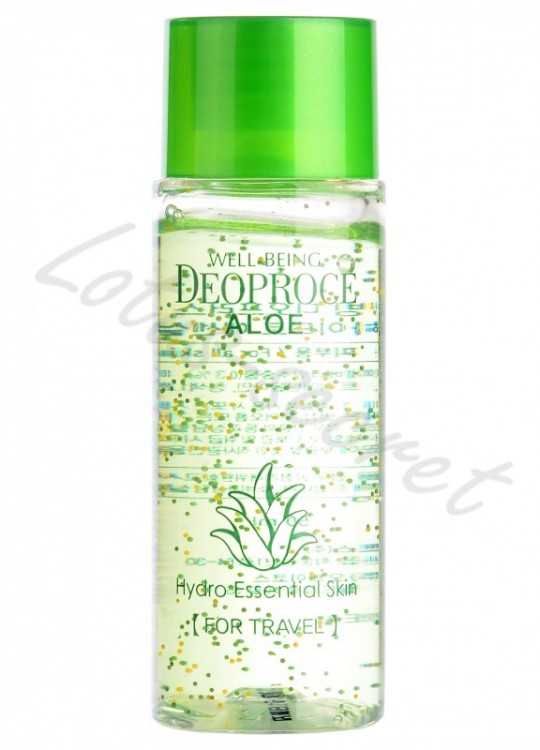 Флюид с экстрактом алоэ Deoproce Well-Being Aloe Hydro Essential Skin