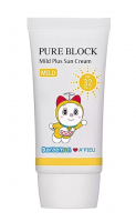 Крем солнцезащитный A'pieu Doraemon Edition Pure Block Mild Plus Sun Cream SPF32/PA++