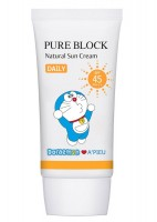 Крем солнцезащитный A'pieu Doraemon Edition Pure Block Natural Daily Sun Cream SPF45/PA+++