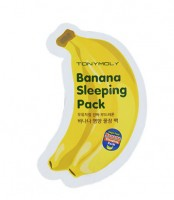 "Пробник ""Маска для лица ночная банановая"" Tony Moly Magic Food Banana Sleeping Pack"