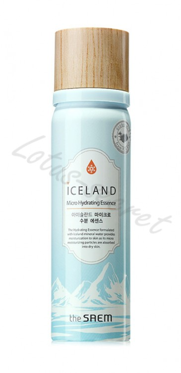 Эссенция увлажняющая The Saem Iceland Micro Hydrating Essence