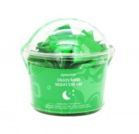 Крем для лица ночной с центеллой Ayoume Enjoy Mini Night Cream