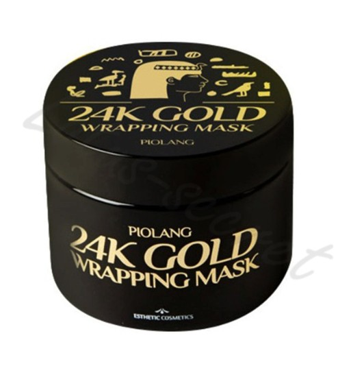 Маска для лица с 24 каратным золотом Esthetic House Piolang 24k Gold Wrapping Mask
